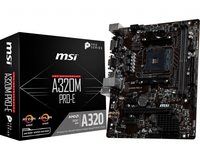 MSI A320M PRO-E scheda madre Presa AM4 Micro ATX AMD A320